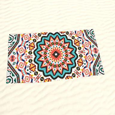 Frisse stijl Strandlaken,Reactieve Print Superieure kwaliteit 100% Microvezels Handdoek