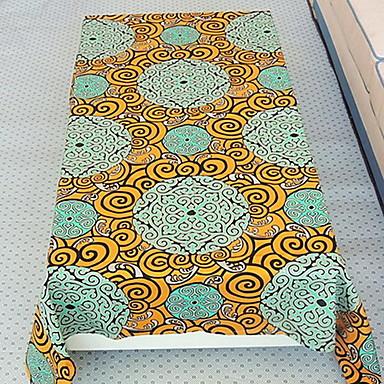 100% algodão Quadrada Toalhas de Mesa Estampado / Padrão Decorações de mesa 1 pcs