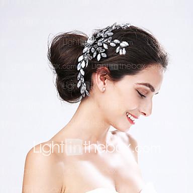 acryl bloemen hoofddeksel huwelijksfeest elegante vrouwelijke stijl