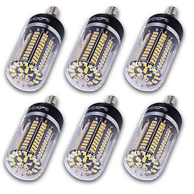 abordables Ampoules électriques-YouOKLight 6pcs Ampoules Maïs LED 1200 lm E14 E12 E26 / E27 T 120 Perles LED SMD 5736 Décorative Blanc Chaud Blanc Froid 220-240 V 110-130 V 85-265 V / 6 pièces