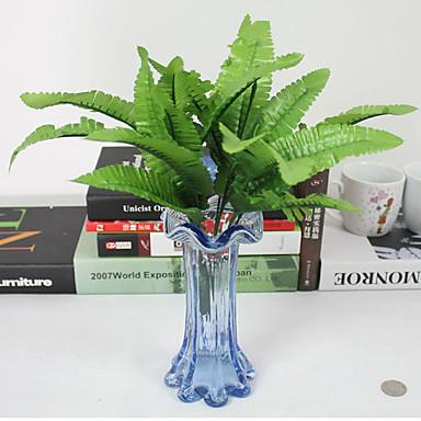 1 1 haara Polyesteri / Muovi Kasvit Pöytäkukka Keinotekoinen Flowers 15.7inch/40cm