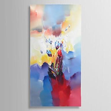 Pintados à mão Abstracto / Paisagem / Vida Imóvel / Floral/Botânico Pinturas a óleo,Clássico / Pastoril / Estilo Europeu / Modern 1 Painel