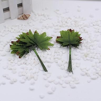 1 Gren Plastikk Planter Bordblomst Kunstige blomster