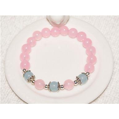 Damen Strang-Armbänder Kristall Modisch Perlenbesetzt Krystall Kreisform Schmuck Für