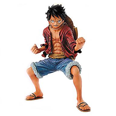 Figuras de Ação Anime Inspirado por One Piece Monkey D. Luffy 18 CM modelo Brinquedos Boneca de Brinquedo