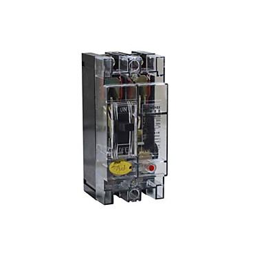 läpinäkyvä muovikotelo katkaisija (vapauta nykyinen taso: 100 (a), nimellisjännite: 380V)
