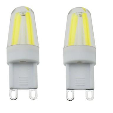 G9 Luminárias de LED  Duplo-Pin T 4 leds COB Impermeável Regulável Decorativa Branco Quente Branco Frio Branco Natural 300-350lm 3000-6000