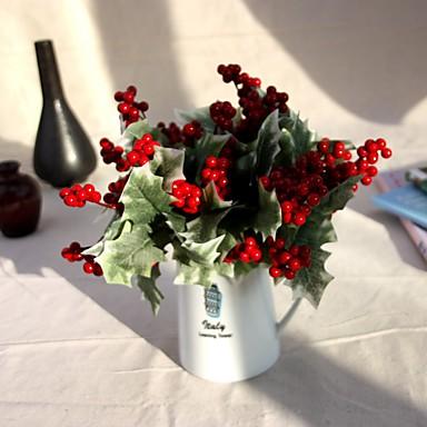 1 1 Afdeling Polyester / Plastik Others Bordblomst Kunstige blomster 8.66inch/22cm