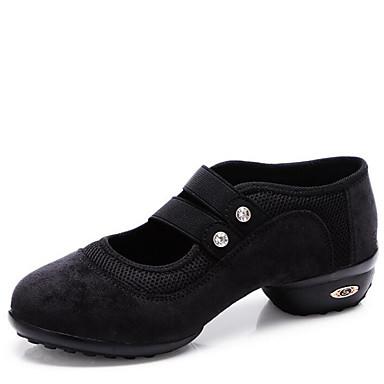 Niet aanpasbaar-Dames-Dance Schoenen(Zwart / Groen / Rood) - metLage hak- enModern