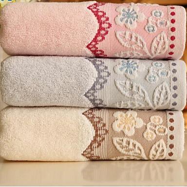 ren bomuld jacquard kort drøm blomme med tykke håndklæder