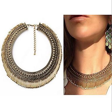 Dames Bohémien Bohémien Choker kettingen / Hangertjes ketting / Verklaring Kettingen Drop Gouden