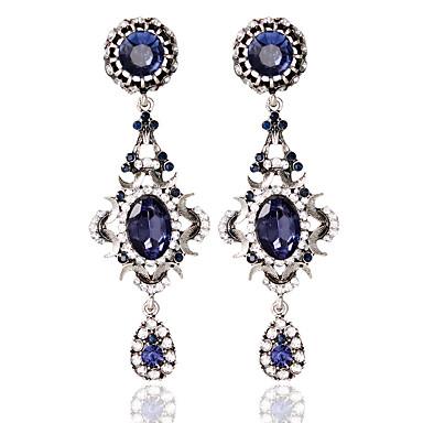povoljno Naušnice-Žene Okrugle naušnice Naušnice Moda Jewelry Plava Za Vjenčanje