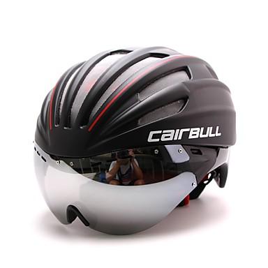 abordables Casques de Cyclisme-CAIRBULL Adulte 28 Aération CE EN 1077 EPS PC Des sports Vélo tout terrain / VTT Cyclisme sur Route Randonnée - Vert Bleu Rouge et Blanc Homme Femme Unisexe