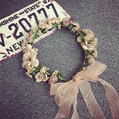 Dame / Jente Vintage / Elegant Hårbånd - Blomst Blonde / Legering