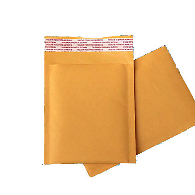 gratis forsendelse gyldne kraftpapir boble kuverter post parcel kurer poser boble poser en seismisk kompression pakke fem