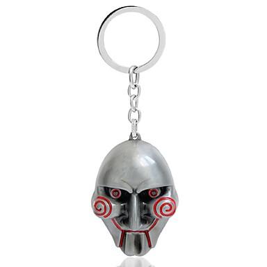 Zinklegering Keychain Favors-1 Stuk / Set Sleutelhangers Klassiek Thema Niet-gepersonaliseerd Wit / Zilver / Goud