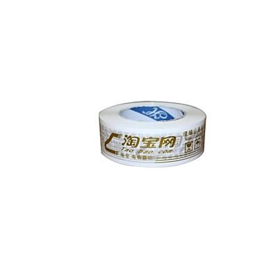 gyldne advarsler plast båndbredde på 4.5cm 2.5cm tyk forsegling tape (bind 2 a)