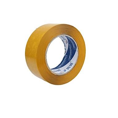 läpinäkyvä beige pakkausteippi tiivistenauhan pakkausteippi paperin leveys 4,8 * 2,5 (2 tilavuutta a)