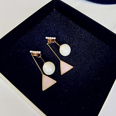 女性 ドロップイヤリング ファッション 調整可能 合金 円形 幾何学形 ジュエリー ジュエリー 用途 日常 カジュアル