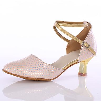 Női Modern cipők Bőrutánzat Magassarkúk Otthoni Személyre szabott sarok Rózsaszín Személyre szabható