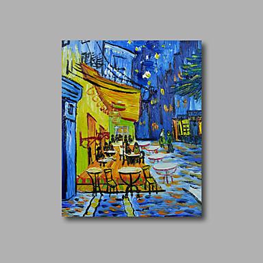Handgeschilderde Abstract / Landschap Olie schilderijen,Modern Eén paneel Canvas Hang-geschilderd olieverfschilderij For Huisdecoratie