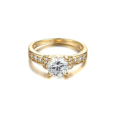Båndringe Mode Fødselssten luksus smykker Simuleret diamant Smykker For Bryllup Fest Forlovelse Daglig Afslappet 1 Stk.