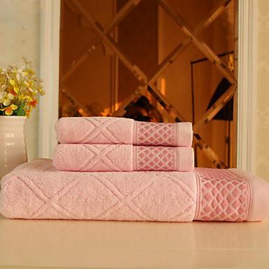 Badlaken Set,Jacquard Hoge kwaliteit 100% Katoen Handdoek