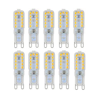 YWXLIGHT® 6W 450-550lm G9 LED-lamper med G-sokkel T 22 LED perler SMD 2835 Mulighet for demping Dekorativ Varm hvit Kjølig hvit Naturlig