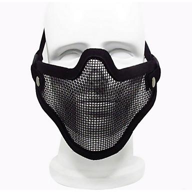 sort farve andet tilbehør materiale beskyttelse udendørs krigsspil beskyttende maske