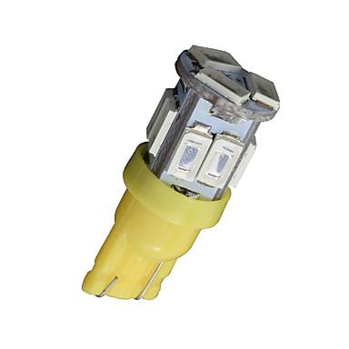 2X T10 W5W 192 168 194 7014 11SMD 5730 11 LED Yellow Side lights LED Wedge Light 12V