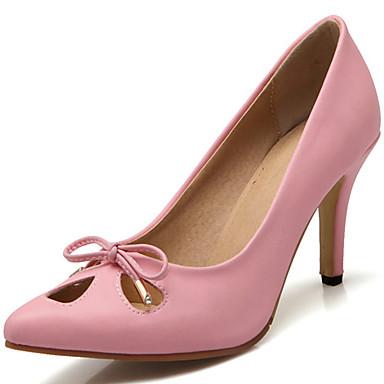 Damen-High Heels-Kleid / Lässig / Party & Festivität-PU-Stöckelabsatz-Absätze / Spitzschuh-Schwarz / Grün / Rosa / Lila