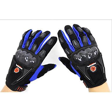 scoyco mc09 motorcykel racing handsker imiteret kulfiber anti ridning assault fuld finger handsker
