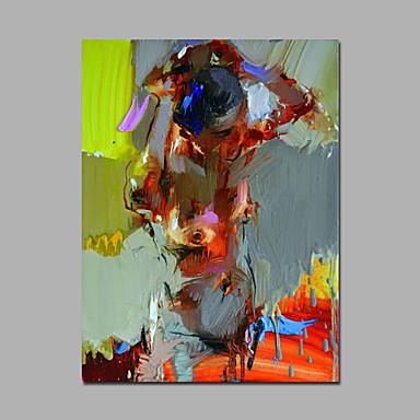 kunstfigur maleri lærred indrammet kunstværk lærred klar til at hænge