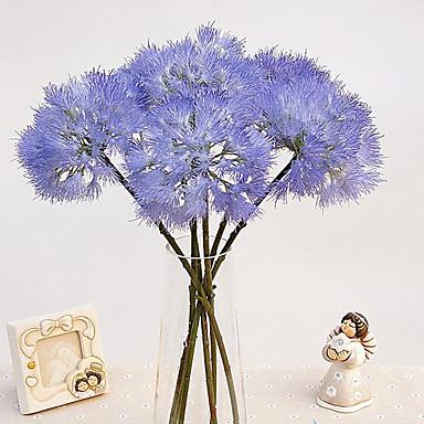 1 1 Afdeling Polyester / Plastik Others Bordblomst Kunstige blomster 18.8*5.1inch/48*13cm