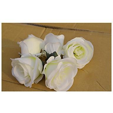 Polyester Bryllup Dekorationer-1piece / Set Kunstig blomst Bryllup Havetema Hvid / Rød / Grøn / Blå / FuchsiaForår / Sommer / Efterår /