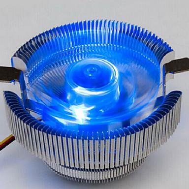 sininen hehku versio pöytätietokoneen CPU tuuletin mykkä intel775 amd / 1150/1155