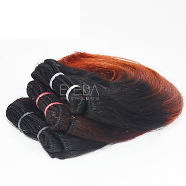 Brazilian Hair Body Wave Human Hair Weaves 3 Pieces 0.08