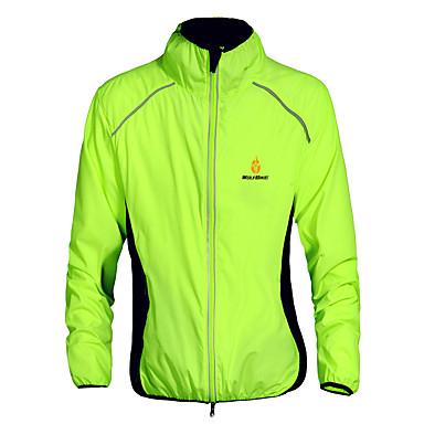 WOLFBIKE Unisex Sykkeljakke Sykkel Jersey / Vindjakker / Topper Fort Tørring, Vindtett, Ultraviolet Motstandsdyktig Klassisk Polyester
