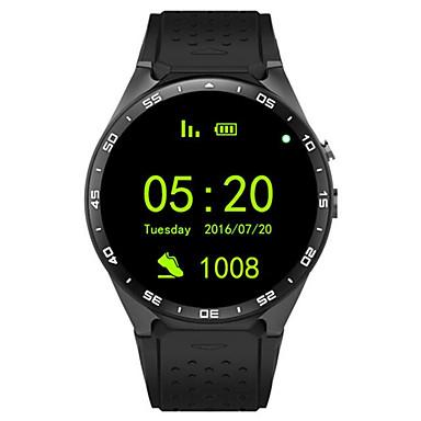 KING WEAR YYKW88 Reloj elegante Android Bluetooth GPS Deportes Pantalla Táctil Calorías Quemadas Standby Largo Temporizador Seguimiento de Actividad Seguimiento del Sueño Recordatorio sedentaria