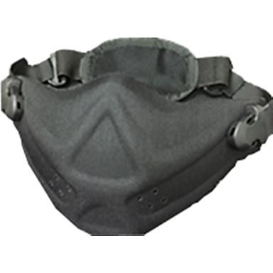 cor preta outros acessórios de proteção de material de guerra jogos ao ar livre máscara protetora