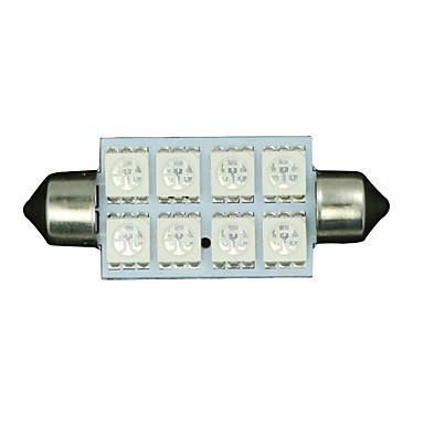10 x Ultra Blue 42mm 5050 festoon kupoli kartta sisätila led lamppu 211-2 578 569