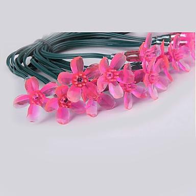 5m 20 ledet rosa kirsebær blomstre streng lys