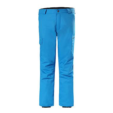 GSOU SNOW® Skitøj Bukser Herre Vintertøj Polyester VintertøjVandtæt / Åndbart / Hold Varm / Hurtigtørrende / Vindtæt / Ultraviolet