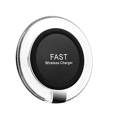Cargador inalámbrico estándar de la carga rápida del qi 10w para iphone xs iphone xr xs max iphone 8 samsung s9 plus s8 note 8 o receptor incorporado qi teléfono inteligente
