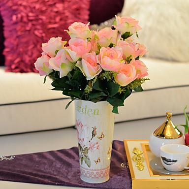 Kunstige blomster 1 Gren Moderne Stil Andre / Roser Bordblomst