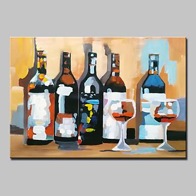 Hang-geschilderd olieverfschilderij Handgeschilderde - Stilleven Modern Kangas