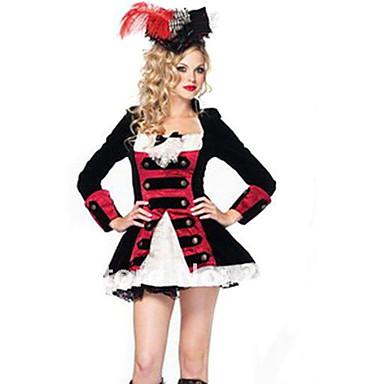Cosplay Kostumer Pirat Film Cosplay Kjole Hat Halloween Jul Nytår Kvindelig