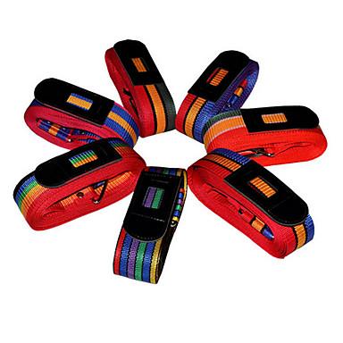 zufällige Farbe Dienstprogramm Transportbox Zugstange Box binden Seil Verpackung Kabel Koffer Gurtkasten Band Bündelung