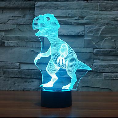 1 pc 3D Nightlight Decorative LED