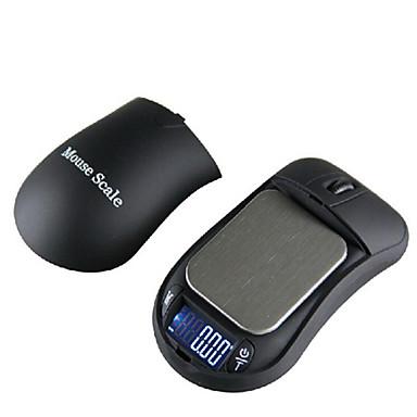 mini mouse jóias balança eletrônica (200g / 0.01g)